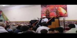 Allama Khursheed Anwar Javadi praise martyrs of Hangu Shahu Khel