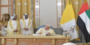 Pope Francis in UAE calls for end to wars in Yemen