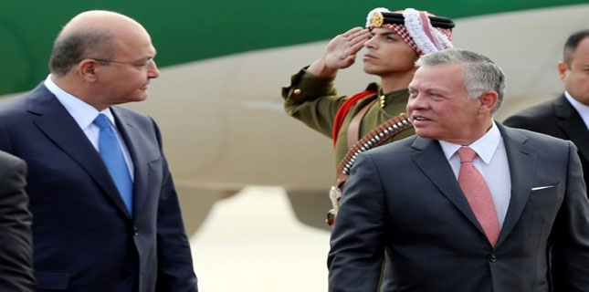 King Abdullah II of Jordan visits Iraq for first time since 2008