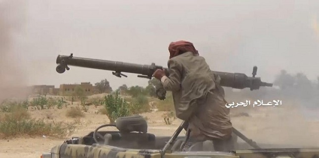 Yemeni Forces attack Saudi-led Mercenaries