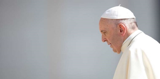 Arms trade of Europe and America are used to kill Children and civilian people: Pope Francis