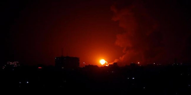 Israeli jets bomb northern Gaza Strip in new act of aggression