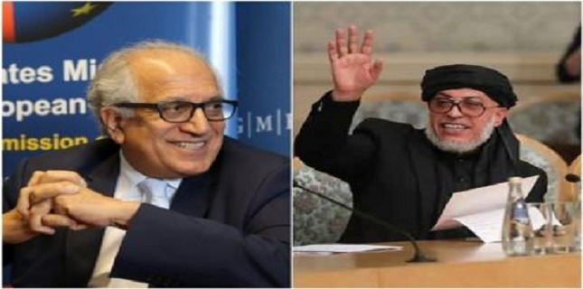 US and Afghan Taliban say they made meaningful progeress in Doha talks