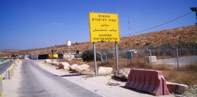 Israel opens apartheid road divided by 8 metre high wall in West Bank