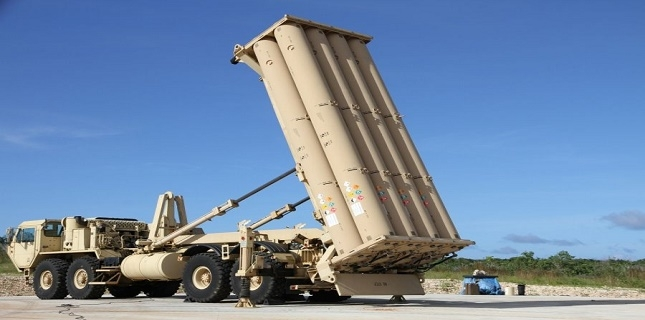 American military deployed anti-ballistic missile defence system in Israel