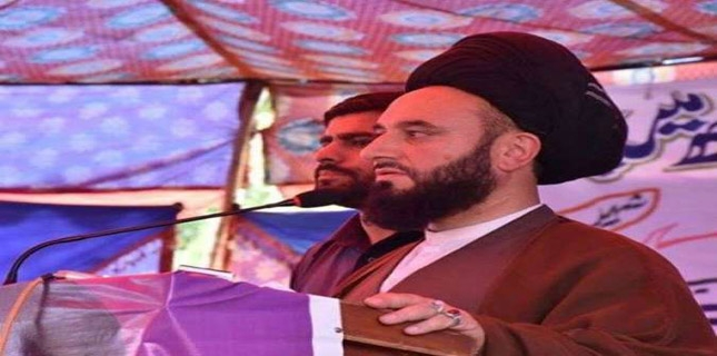 Allama Rahat protests Gilgit-Baltistan government favouritism in recruitment
