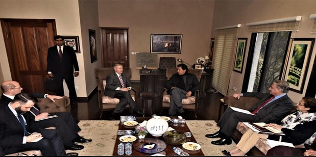 Senate irked by Lindsay Graham's guard in meeting with PM Imran Khan