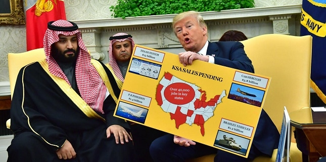 Saudi Arabia became the world's top arms importer in 2014-18: SIPRI