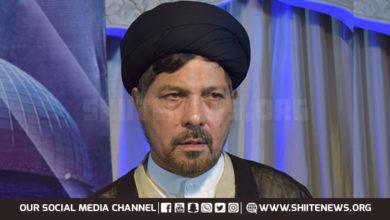 Allama Baqir Zaidi congratulates Zaireen