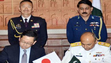 Pakistan Japan security cooperation