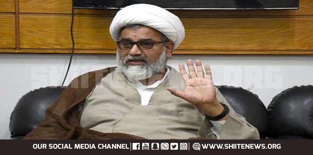 Allama Raja Nasir asks people