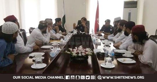 sippah sahaba police meeting