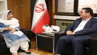 Ambassdor Riffat Masood Iran Pakistan