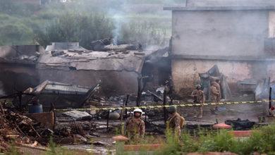 Plane crash Pak Army