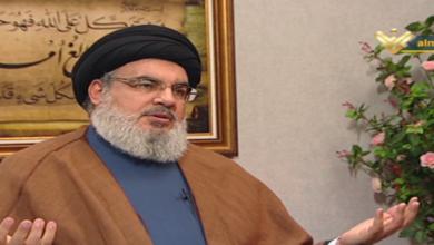 Hasan Nasrallah interview Lebanon