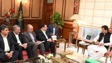 imran khan iran delegation