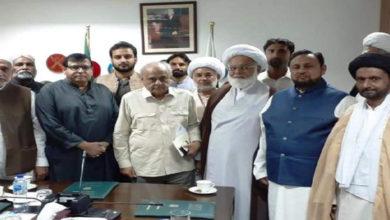 Shia meets Ijaz Shah