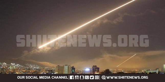 Israeli missile attack Syria