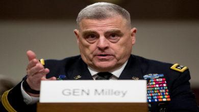 US Gen Milley Pakistan