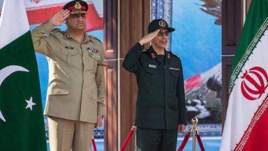 Iranian general Kashmir Pakistan