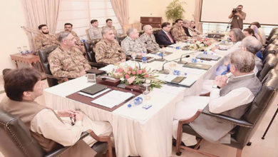 Pakistan national security committee