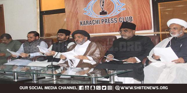 Allama Razi Jafar condemns India