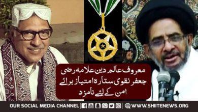 Razi Jafar Sitara Imtiaz
