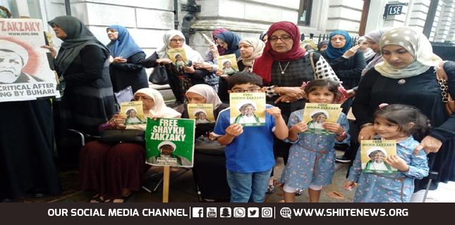 Free Zakzaky Movement protest