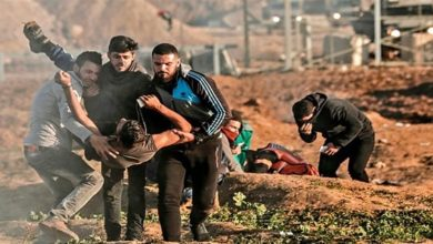 Palestinian weekly protest, Israeli forces, palestinian killed
