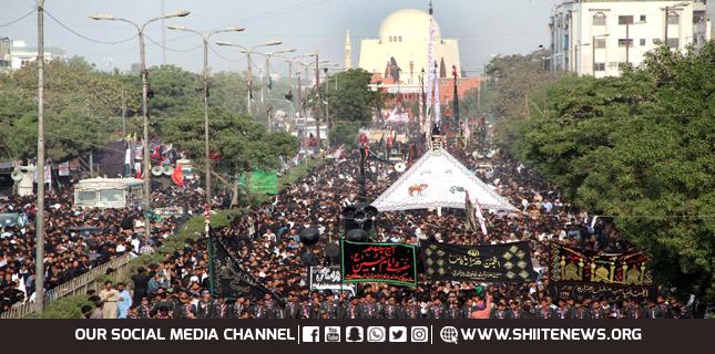8th Muharram processions