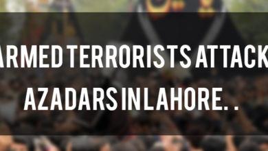 Armed terrorists