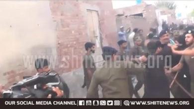 Okara police attack azadars