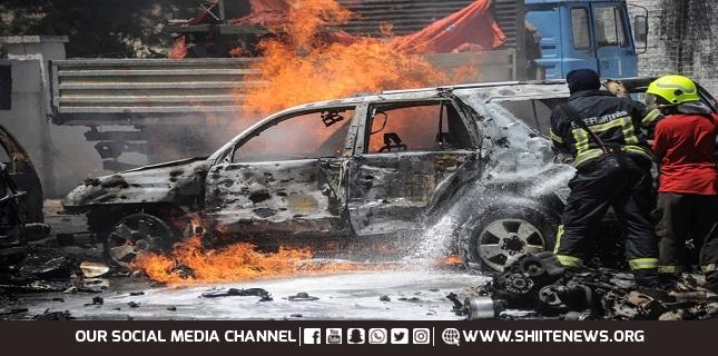 Car bomb, Turkey Syria border