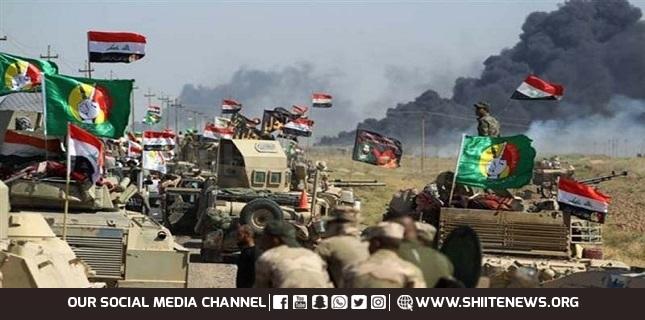 Hashd al-Sha'abi forces