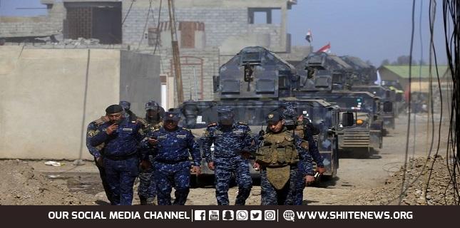 ISIS members in Mosul