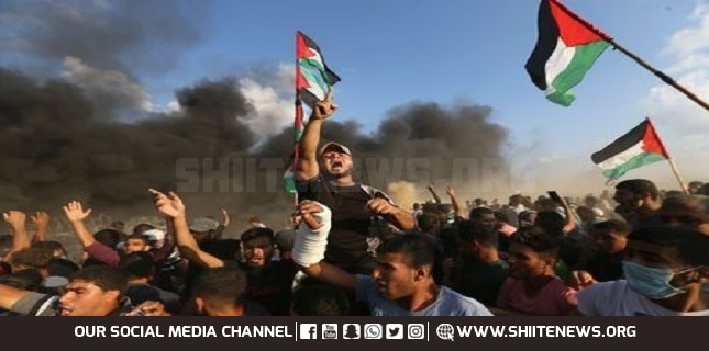 Israeli forces attacked, Palestinian protesters