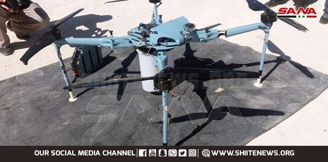 Syrian forces cptured drone, Israeli drone