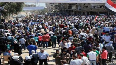 Syrian citizens, Liberated from Terrorism