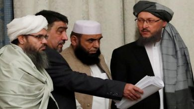 Taliban delegation in China