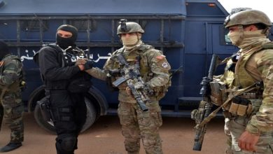 Tunisian forces, terrorist killed