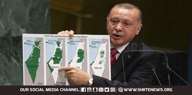 Turkish President, Israeli occupation