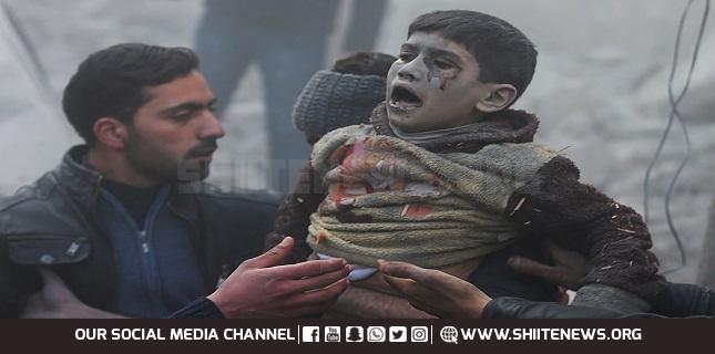 Syrian kids, US airstrikes, US war crimes