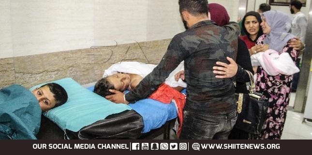 bomb blast in Aleppo