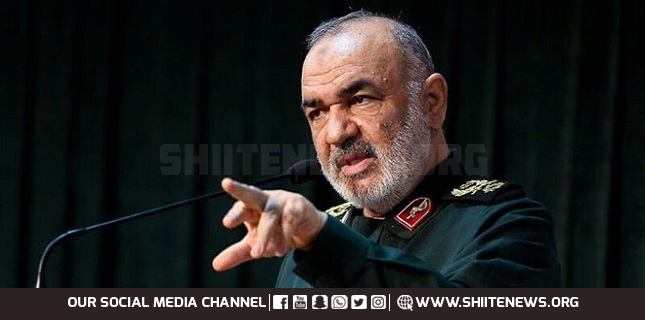 defeating enemy, General Salami, IRGC