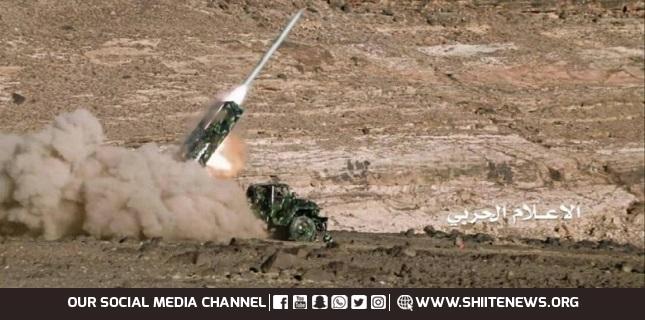 Yemeni missile, Najran, Saudi Arabia