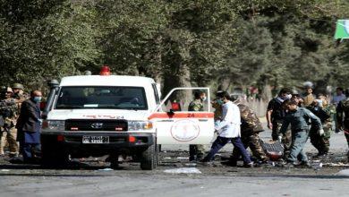 explosions in Afghanistan