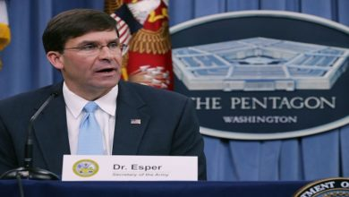 US Defense Secretary Mark Esper