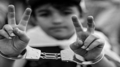 children in Bahraini jail