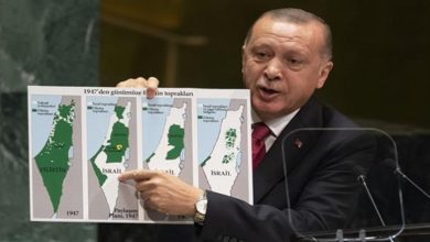 Turkish President, Israeli occupation