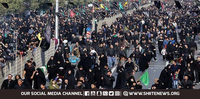 Arbaeen in Iran today